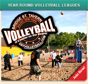 Volleyball Leagues at Bridge Street Tavern